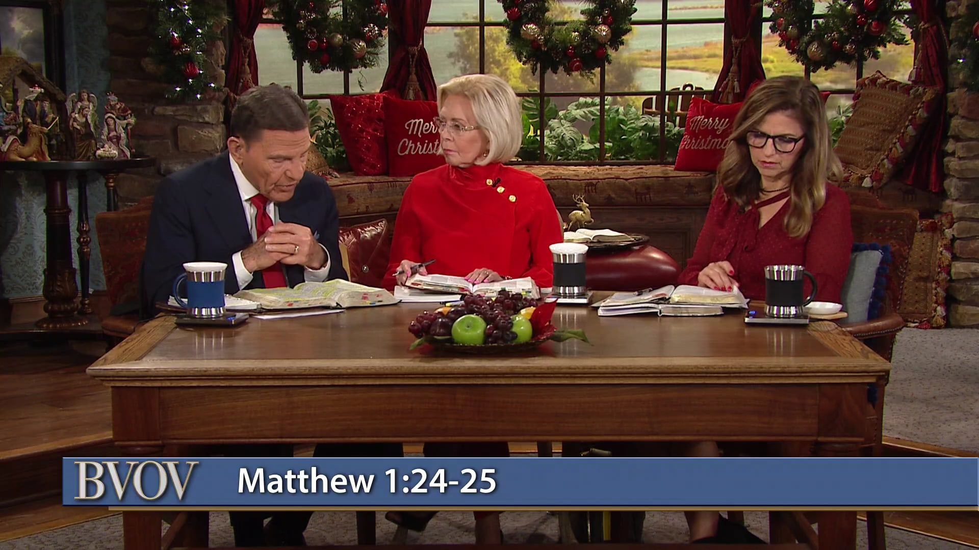 Join Kenneth and Gloria Copeland with Kellie Copeland on Believer's Voice of Victory as they discuss the accuracy and uncanny timing of God at Christmas. Learn why the timely and supernatural actions of the wise men and Joseph, all working together, were required to see God's plan come to pass. Discover how every tiny piece of the puzzle was exactly right and right on time!