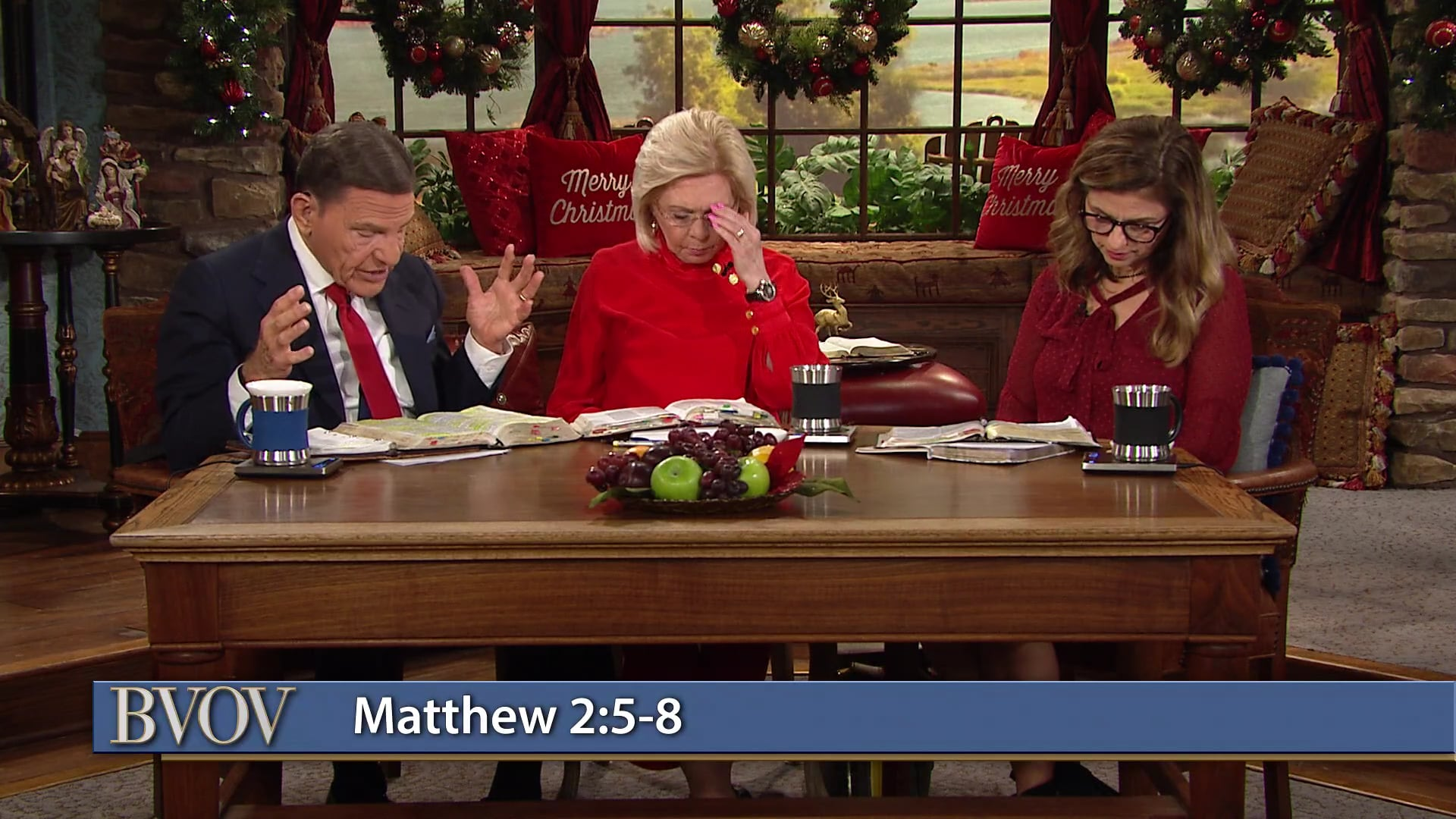Happy Christmas Eve! Watch Believer's Voice of Victory as Kenneth and Gloria Copeland with Kellie Copeland discuss God's Christmas plan, how He brought it to pass and why the faith of the people involved was critical to its success. Learn why, in the same way, He has your life in mind. And He'll send whomever it takes to get His plan done!