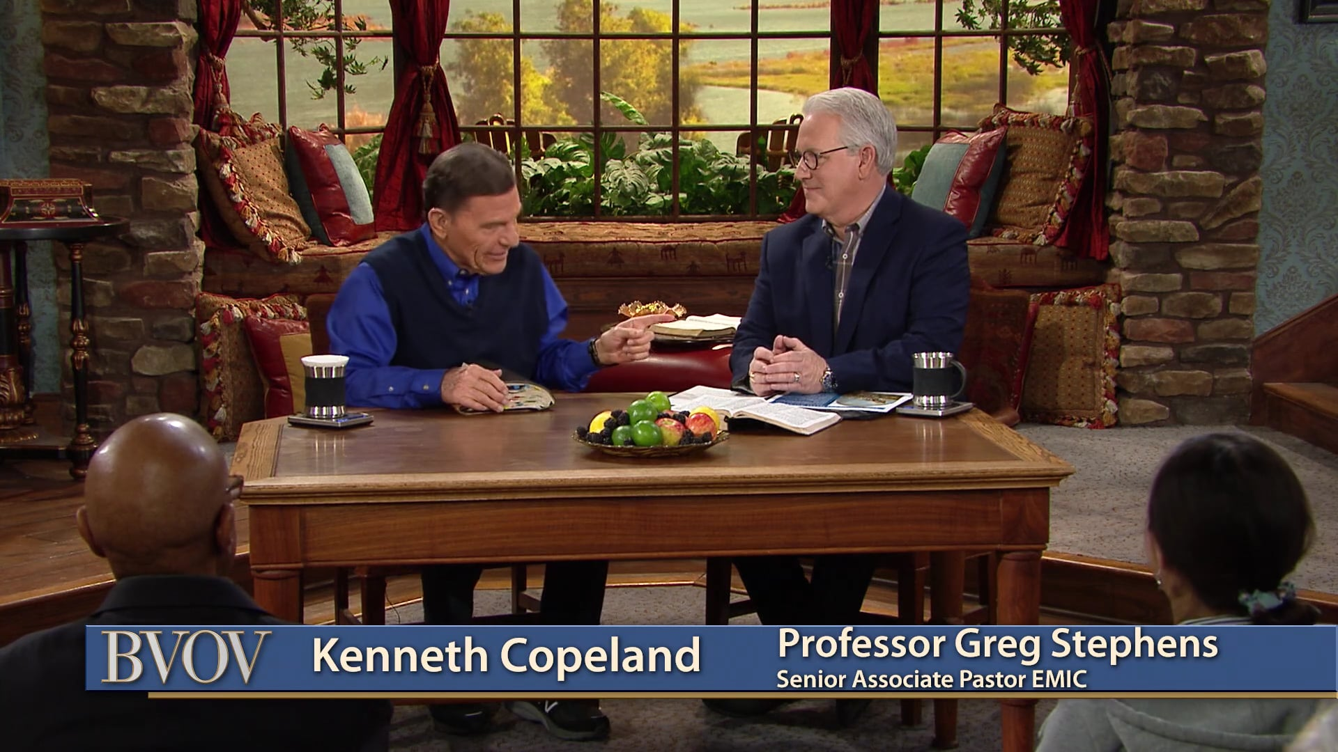 Watch Believer's Voice of Victory as Kenneth Copeland and Professor Greg Stephens teach you how partners in a ministry hold up each other's arms to stay strong in the fight of faith. Learn why faith is the steadying force in battle, and how covenant partners reinforce one another in a ripple effect of faith!