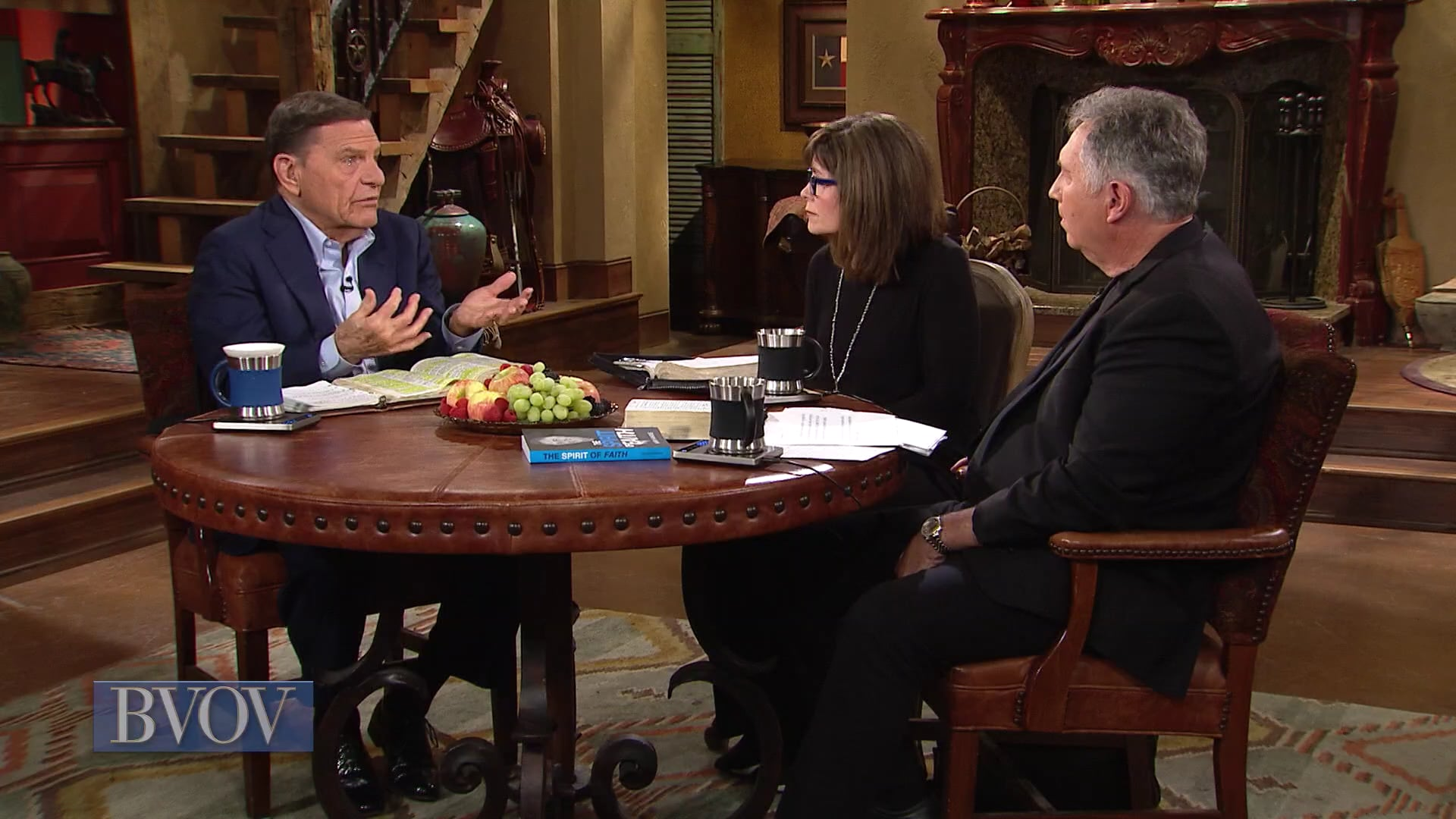 The spirit of faith is the fire of faith! Join Kenneth Copeland, with Mark and Trina Hankins, on Believer's Voice of Victory as they discuss why the spirit of faith will cause you to believe, speak and act in a way that always sees the victory. Whether you feel like it or not, you have the spirit of faith inside you!