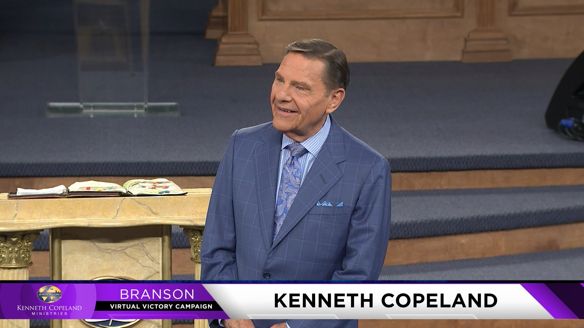"What's your definition of a ""job""? At the 2021 Branson Virtual Victory Campaign, Kenneth Copeland teaches the difference between a job and problem-solving. Heaven's economy is serving and meeting the needs of people. According to 1 Tim. 6:17, God not only meets our needs, but gives us all things to enjoy!"
