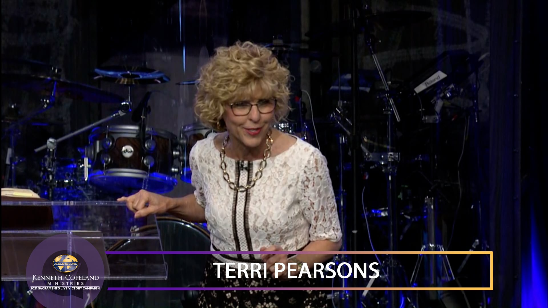 At the 2021 Sacramento Victory Campaign, join Terri Copeland Pearsons as she teaches about the grace that works in apostles and prophets to be dispensed to others. Grace discriminates! It confirms what God wants you to be or have. It doesn't fit anyone else. It is God's equipment on you, tailor-made.