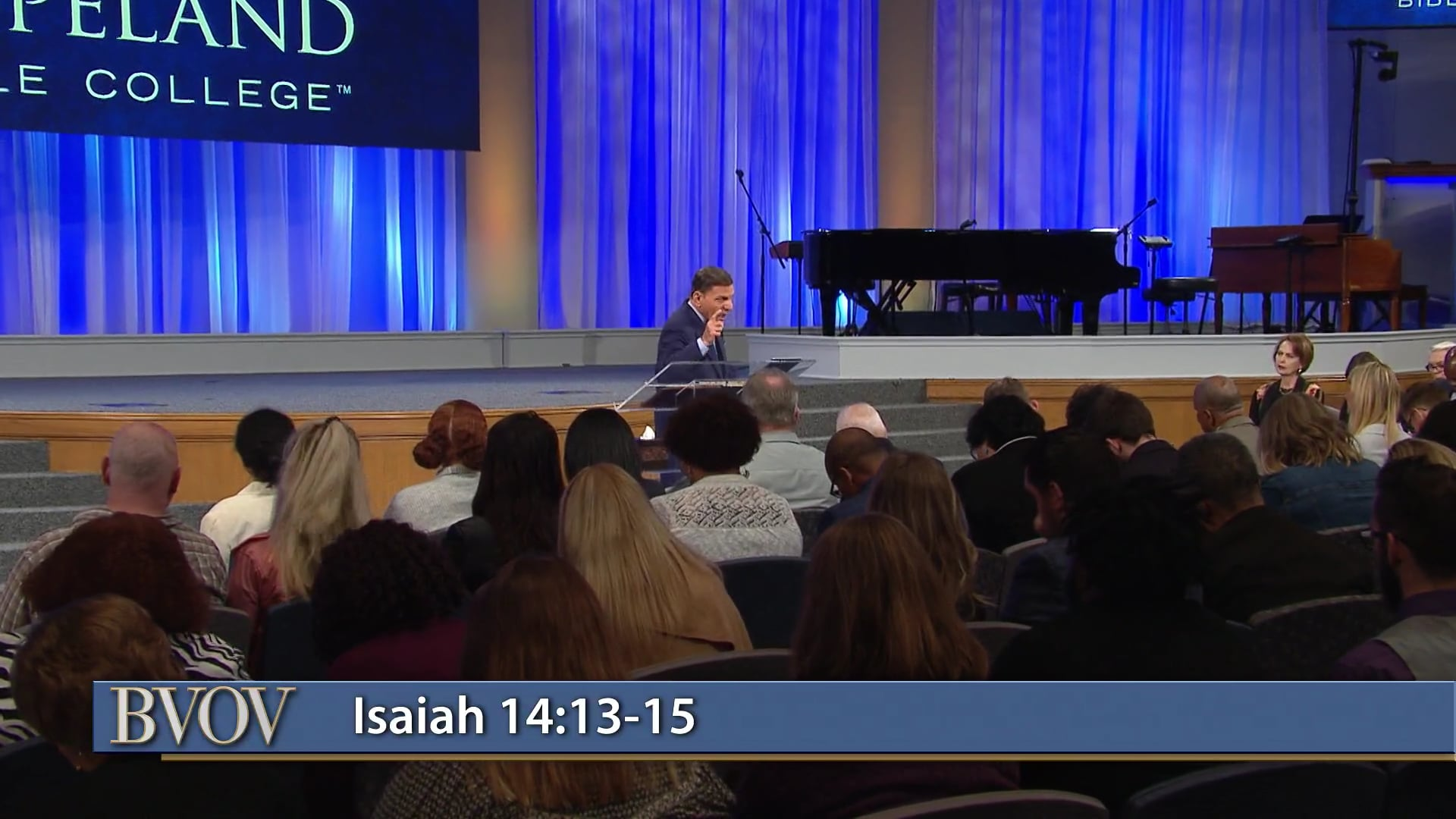 Did God create iniquity? Watch Believer's Voice of Victory as Kenneth Copeland shares how God never created anything bad. Discover how iniquity was found in satan, which is why hell was created for him and his angels—not people. God desires only goodness for you, and He wants you to prosper in all things!