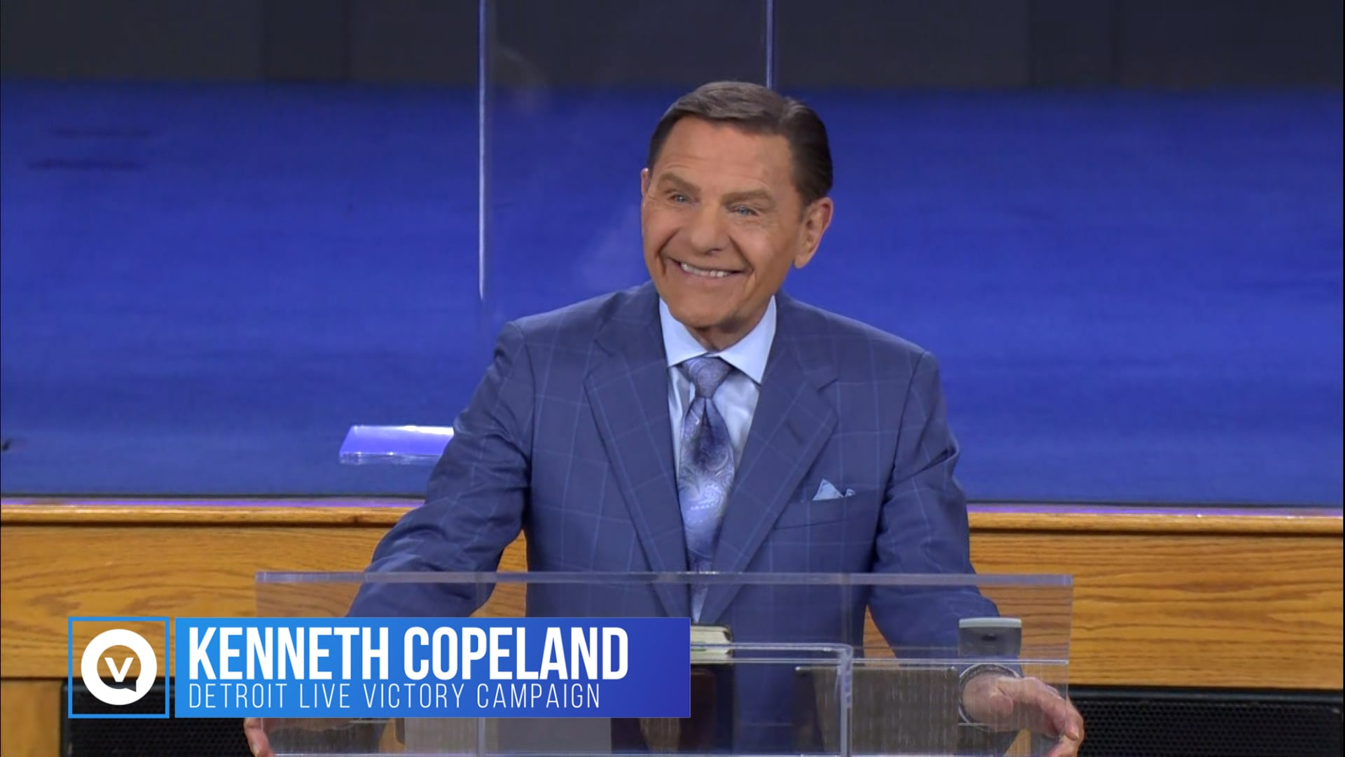 """Join Kenneth Copeland at the 2021 Detroit Victory Campaign as he defines """"the anointing exchange."""" Phil. 4:13 says we can do all things through the anointing. We are carriers of the Anointed One and His Anointing! Jesus was anointed with the Holy Spirit and He resides in us as we go forth to preach the gospel!"""