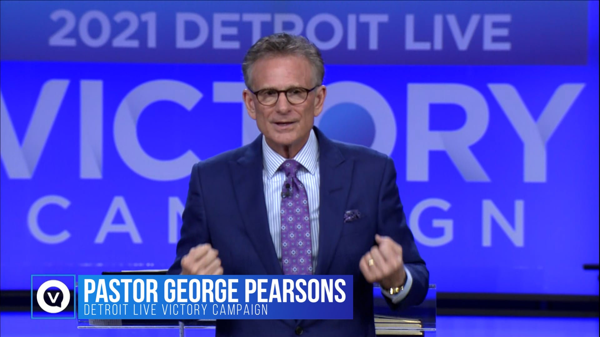 At the 2021 Detroit Victory Campaign, George Pearsons thanks the KCM Partners for their faithfulness. There's an anointing, as Partners together, to build back everything the devil has stolen. As a Partner, you should be experiencing a residual effect of partnership; blessed in every way that KCM is blessed!