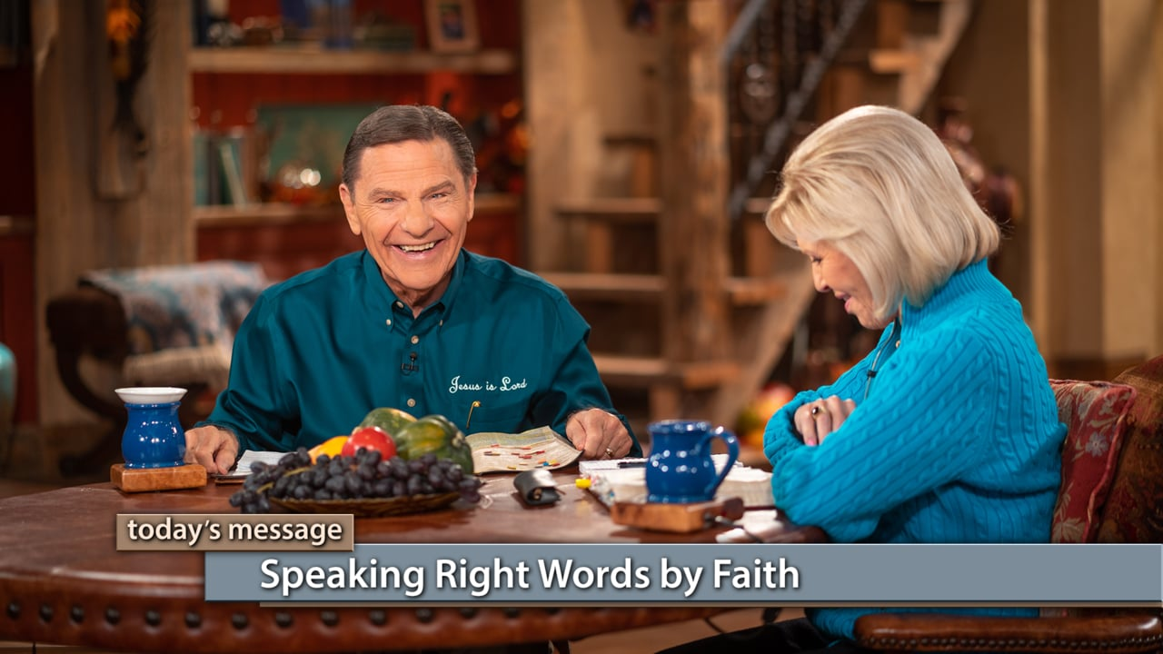 What kind of spiritual force do you want operating in your life? Join Kenneth and Gloria Copeland on Believer's Voice of Victory as they share how spiritual forces follow the laws of faith and are released with words. You can live in THE BLESSING by speaking right words by faith, or you can live in the curse by speaking contrary to the Bible. It all depends on what you speak!
