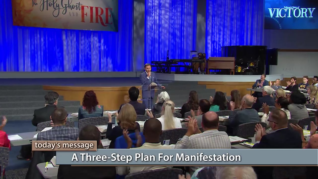 There is a three-step plan for manifestation right at your fingertips! Find out what it is with Kenneth Copeland on Believer's Voice of Victory, as he teaches at Kenneth Copeland Bible College™. Learn how faith functions and how you can put it to work for a life filled with the miraculous!