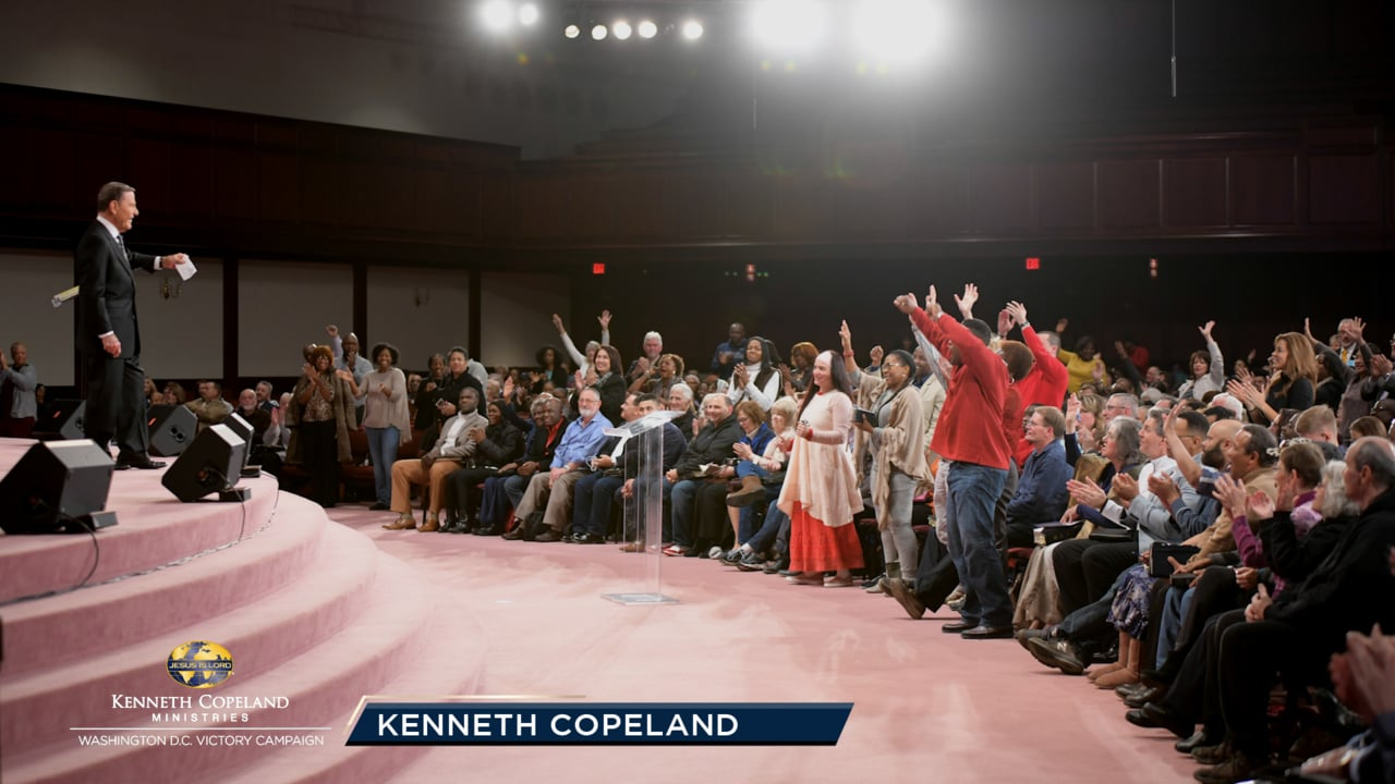 Learn to hear the voice of the Lord and how He wants you to give during this final offering message by Kenneth Copeland during the 2018 Washington, D.C. Victory Campaign.