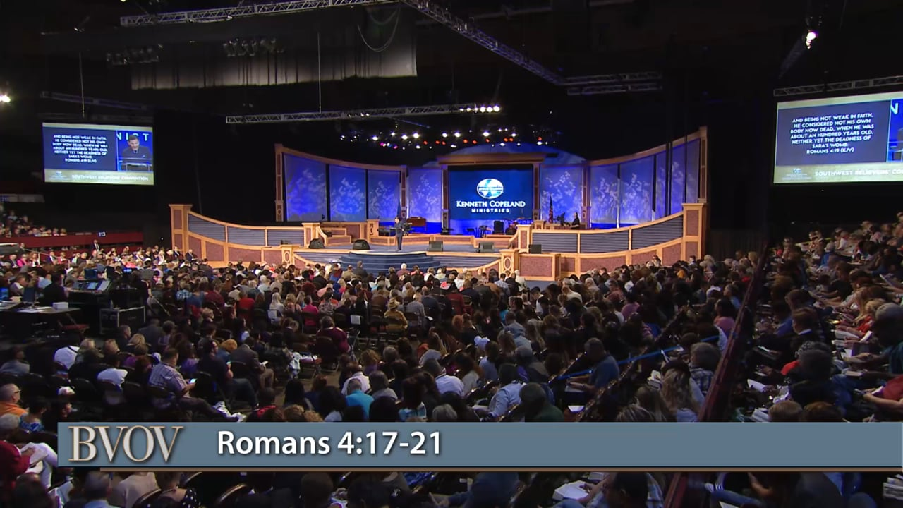 Join Kenneth Copeland today, on the Believer's Voice of Victory, as he teaches on faith that gives glory to God.  Get back to the basics of faith, be strong in it and know without a doubt that God can do what He has promised.