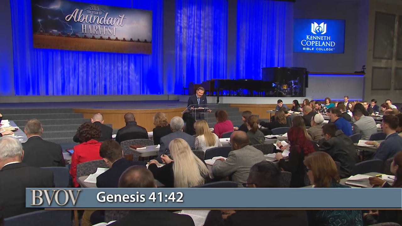 Your blessing is a witness to the world! Watch Believer's Voice of Victory as Kenneth Copeland takes you through the lives of Abraham and Joseph to reveal how THE BLESSING will promote you no matter where you come from or what position you hold. Learn why THE BLESSING is the gospel of Jesus Christ!