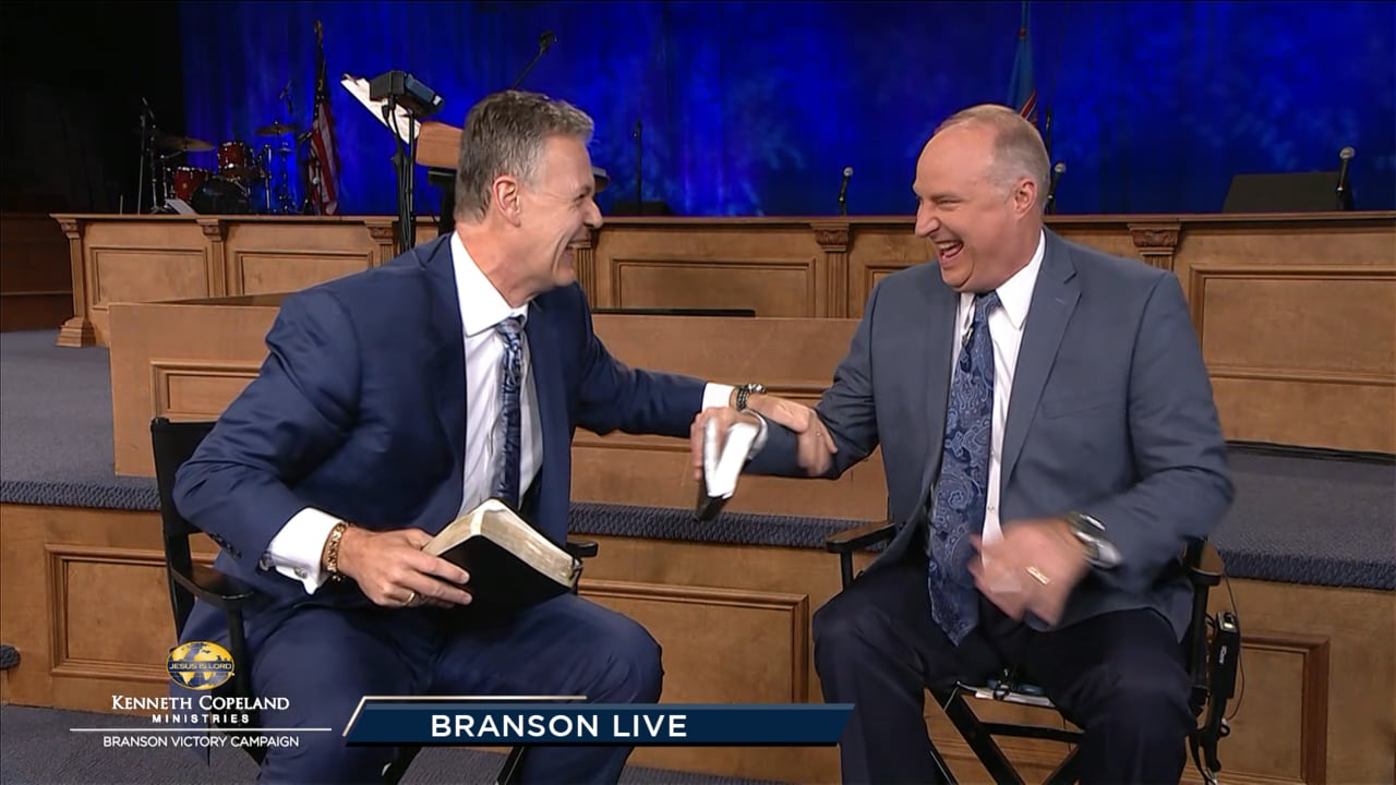 """Tim Fox and Tracy Harris, at the 2019 Branson Victory Campaign, share how faith-filled words activate healing. You """"should"""" be loosed and free! At any time or place, healing is available. God has already decided, and His power to loose you is working in you now! See clips from a 2018 Healing School."""