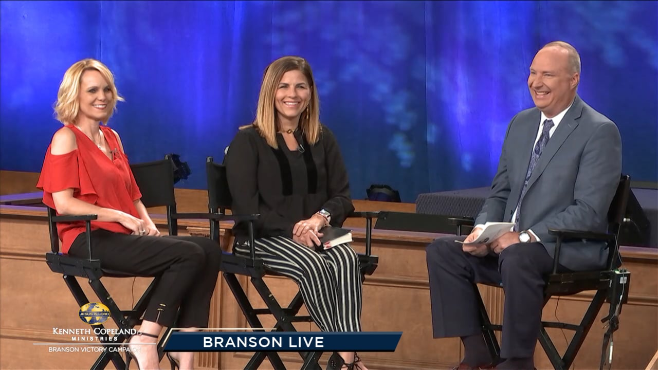 Join Tim Fox just before the final session of the 2019 Branson Victory Campaign as he sits down with Kellie Copeland and Jerriann Savelle to discuss the powerful topics they tackle on their new show, Kellie and Jerri, airing on the VICTORY™ network. Then, tune in for a fun conversation with Dr. Jerry Savelle, as he shares his path to ministry and the humorous events he experienced along the way.