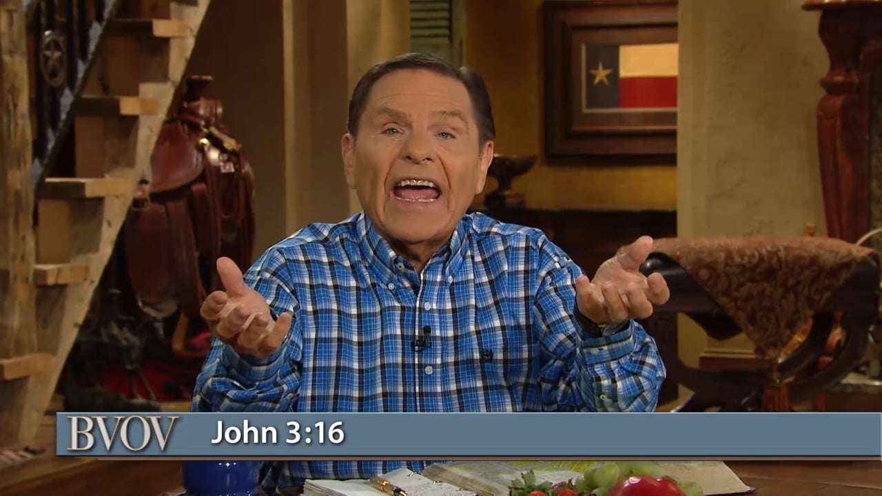 Jesus is God's gift of complete, unconditional love to you! Watch Kenneth Copeland (as previously aired) on Believer's Voice of Victory, as he shares what it truly means to accept God's love, so you can be healed, whole and prosperous. Open your gift of Love today!