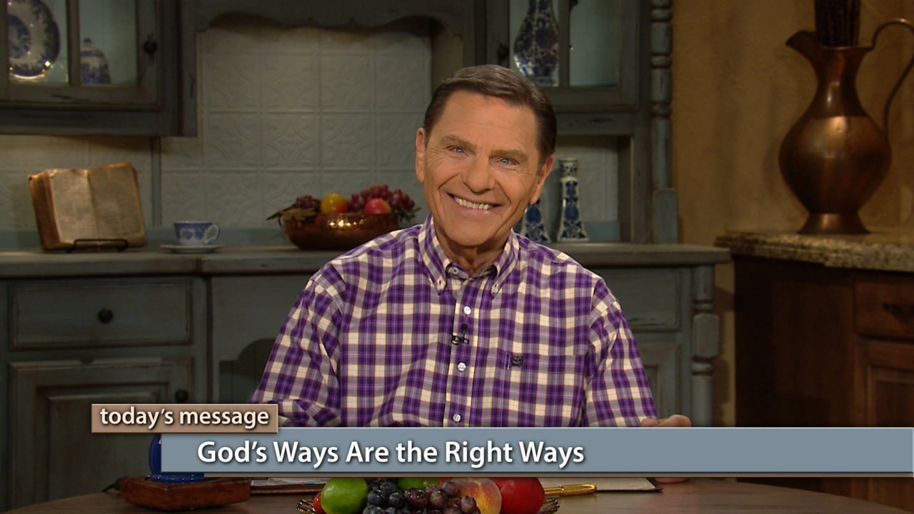 Learn God's ways by total immersion in God's WORD! Watch Kenneth Copeland (as previously aired) on Believer's Voice of Victory, as He shares how God's thoughts and ways are always right. If you want to experience victory, then learn to think like Jesus!