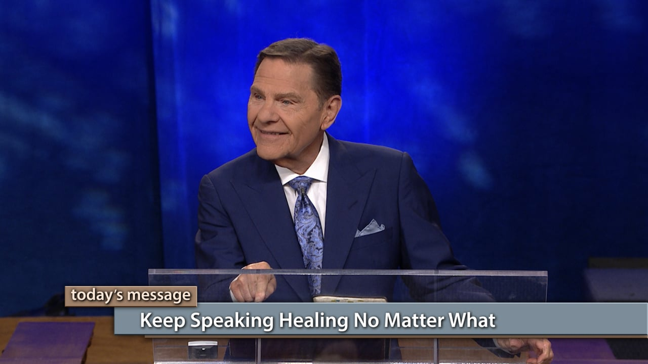 Watch Believer's Voice of Victory as Kenneth and Gloria Copeland share the importance of speaking your healing continually and refusing to speak unbelief. Say the truth about your healing from God's WORD, and then keep speaking healing no matter what. Don't quit! Say it and say it and say it!