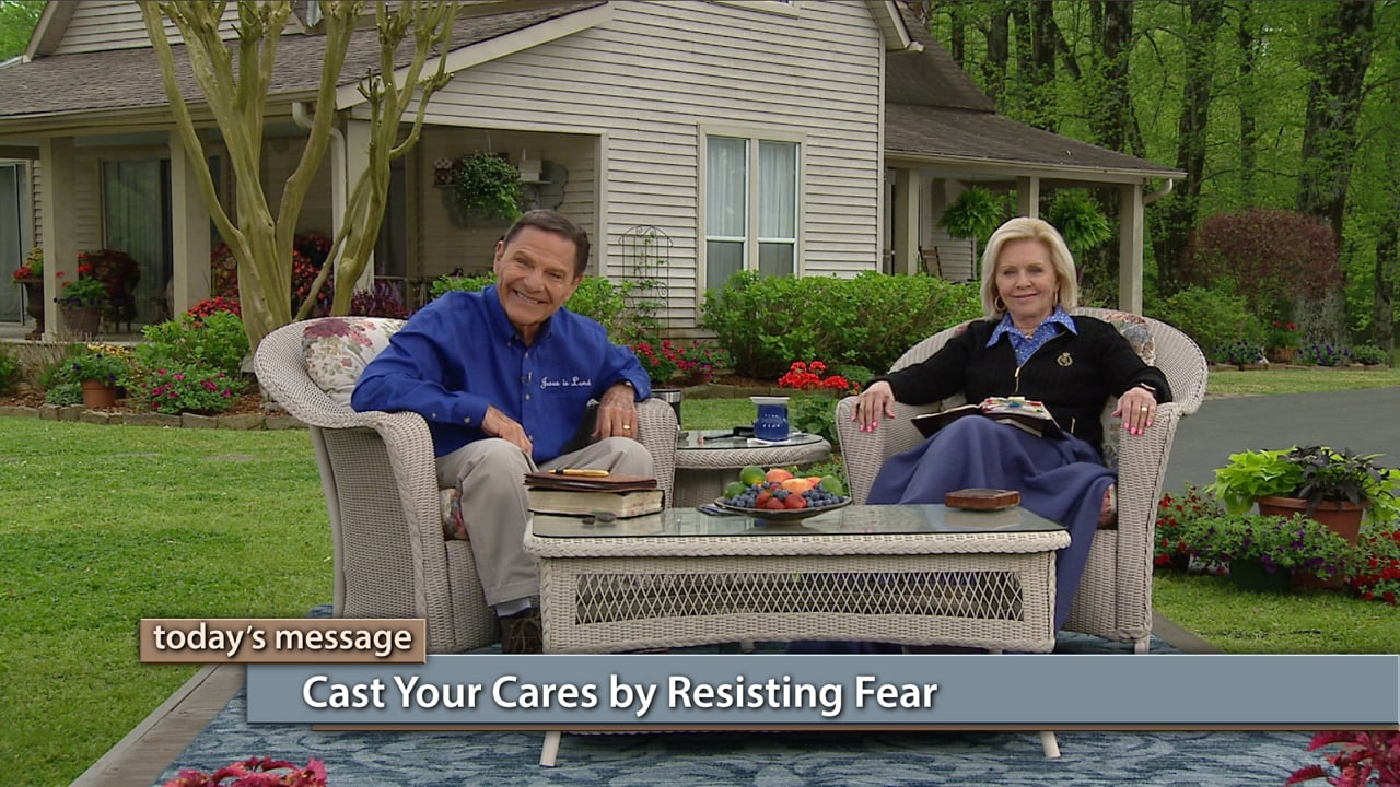 Don't let the devil turn your thoughts against you! Join Kenneth and Gloria Copeland on Believer's Voice of Victory, as they share how fear is your enemy and is the root of all worry and stress. Learn why casting your cares and resisting fear is just as important as operating in faith and love because it shuts the door on the devil!