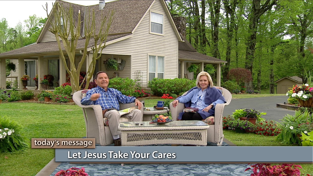 Are you holding onto things that don't belong to you? Join Kenneth and Gloria Copeland on Believer's Voice of Victory, as they discuss the importance of understanding that Jesus bore all of our sin, shame, worries and fears. He did it all. We are redeemed from the whole curse—including cares and worries. You don't have to worry anymore. Let Jesus take your cares!