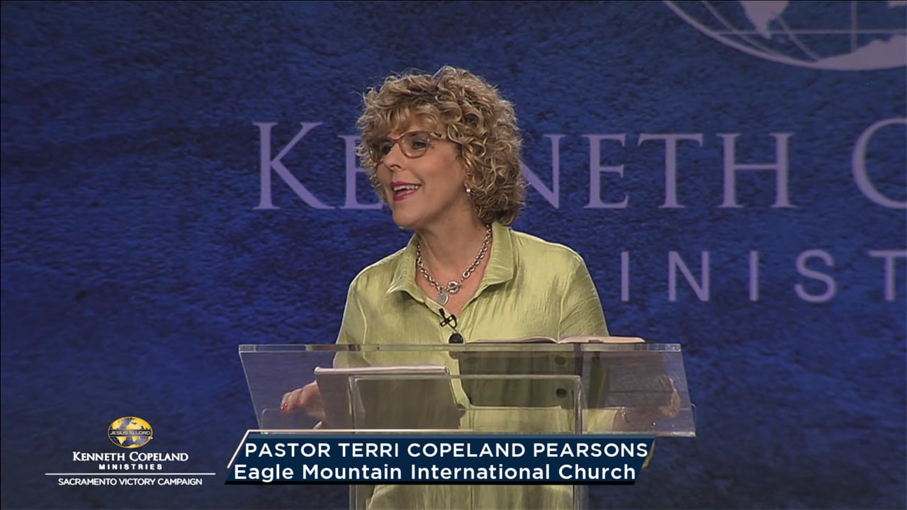 At the 2019 Sacramento Victory Campaign, Terri Copeland Pearsons notes how impactful it is when people of faith, who know how to pray, come together. When we connect with God's compassion, healing results. In Psalm 136 we see many facets of His mercy and compassion. Learn to pray from a place of love!