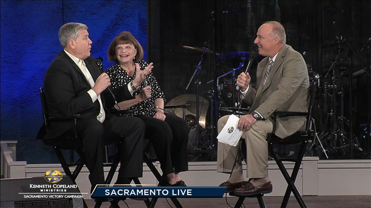 Join Tim Fox at the 2019 Sacramento Victory Campaign with Pastors Billy and Cindy Krause. Their church dedicated 8,000+ hours of prayer in preparation for this meeting. Len and Cathy Mink recap their journey as part of KCM for many years. Dr. Tony Erby, Dean of KCBC®, shares exciting campus news!