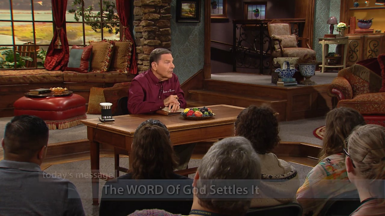 Watch Believer's Voice of Victory as Kenneth Copeland shares how you can let The WORD of God fight its own fight. Learn to reject condemning thoughts by making The WORD final authority in your life. If the Bible says it, and you believe it, The WORD of God settles it! Plus, Brother Copeland shares a word of the Lord about what happens to aborted babies and what to do if you're contemplating suicide.