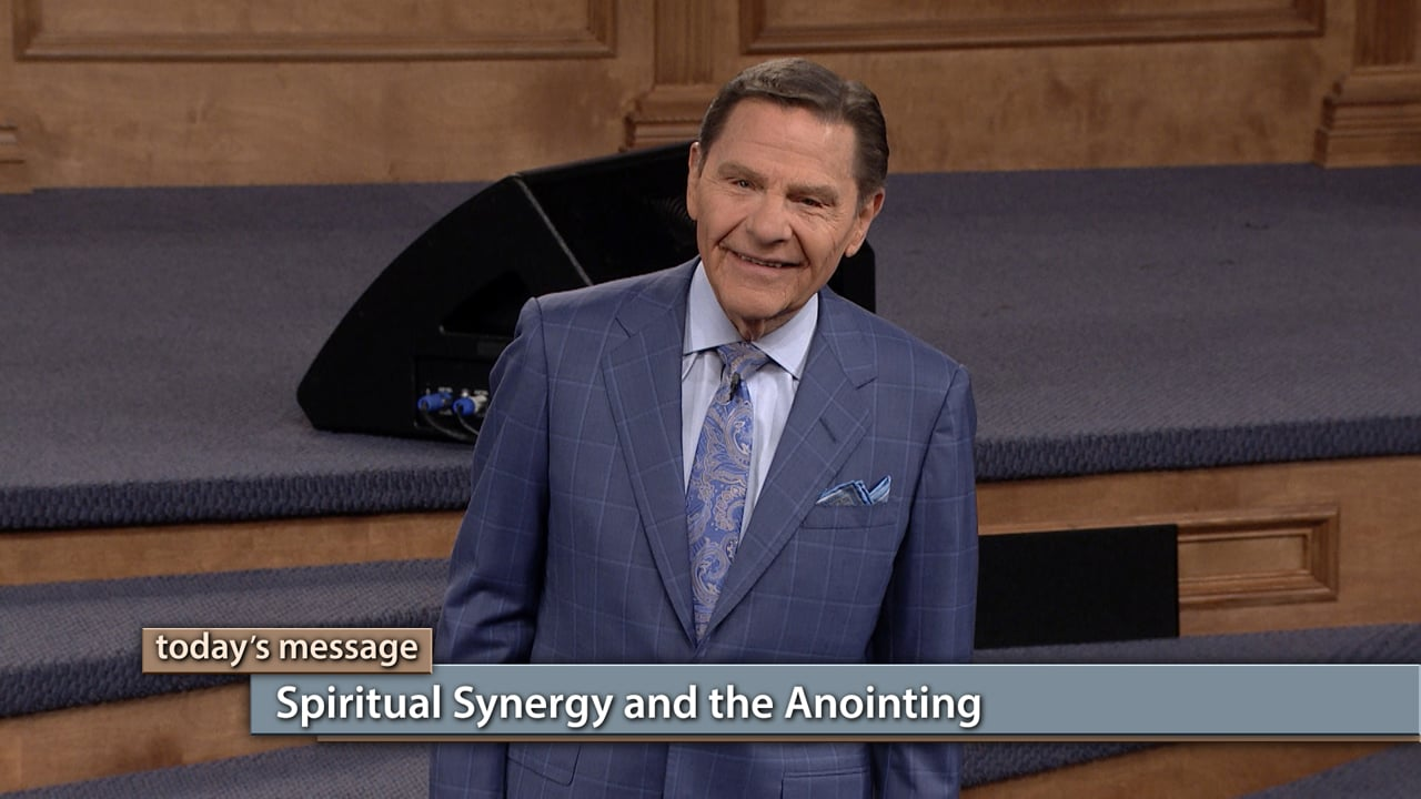 What is spiritual synergy? You'll want to find out! Watch Believer's Voice of Victory as Kenneth Copeland shares how partnering with a ministry causes that ministry's anointing to flow in your life. Learn to be cautious in choosing spiritual partners, and how spiritual synergy and the Anointing will bring power to your life!