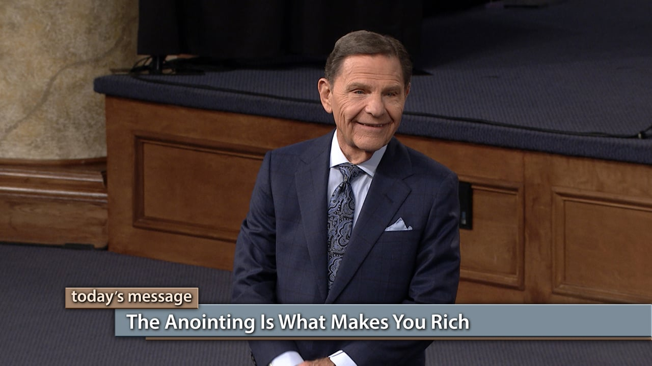 Watch Believer's Voice of Victory as Kenneth Copeland shares why it is critical to practice God's presence to hear His voice and receive His Anointing power. Learn what lifestyle changes you can make now so you will never miss His instructions again concerning your finances. THE BLESSING—the Anointing—is what makes you rich!