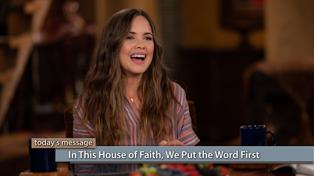 Doubt and defeat might be the norm in the world, but not in the house of faith! Watch Jeremy and Sarah Pearsons on Believer's Voice of Victory as they share how in this house of faith, we put the Word first in every area of our lives. Learn how to build your life on the Word of God, so you can experience blessings others only dream of!
