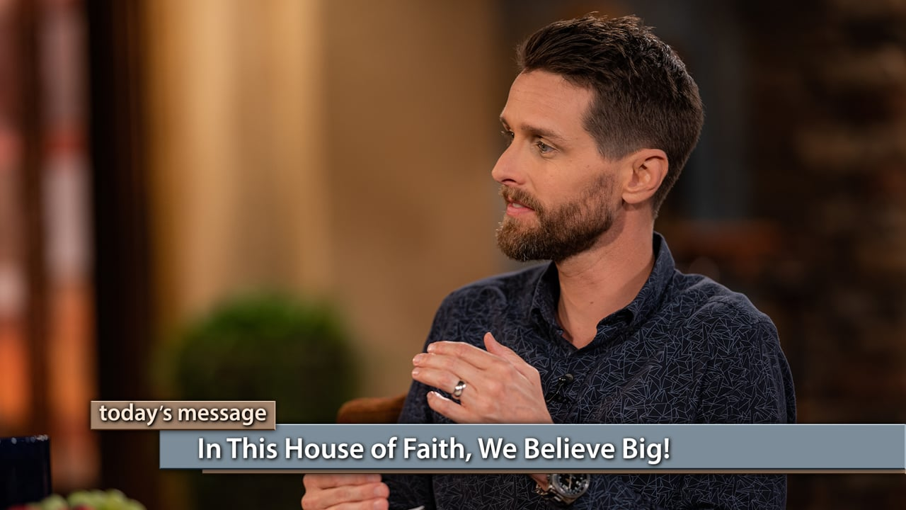 "Is it OK to envision bigger and better in your life? Yes, it is! Jeremy and Sarah Pearsons discuss the importance of dreaming and believing God for the desires of your heart in this episode of Believer's Voice of Victory. Tune in and learn to think beyond what's ""reasonable."" In this house of faith, we believe big!"
