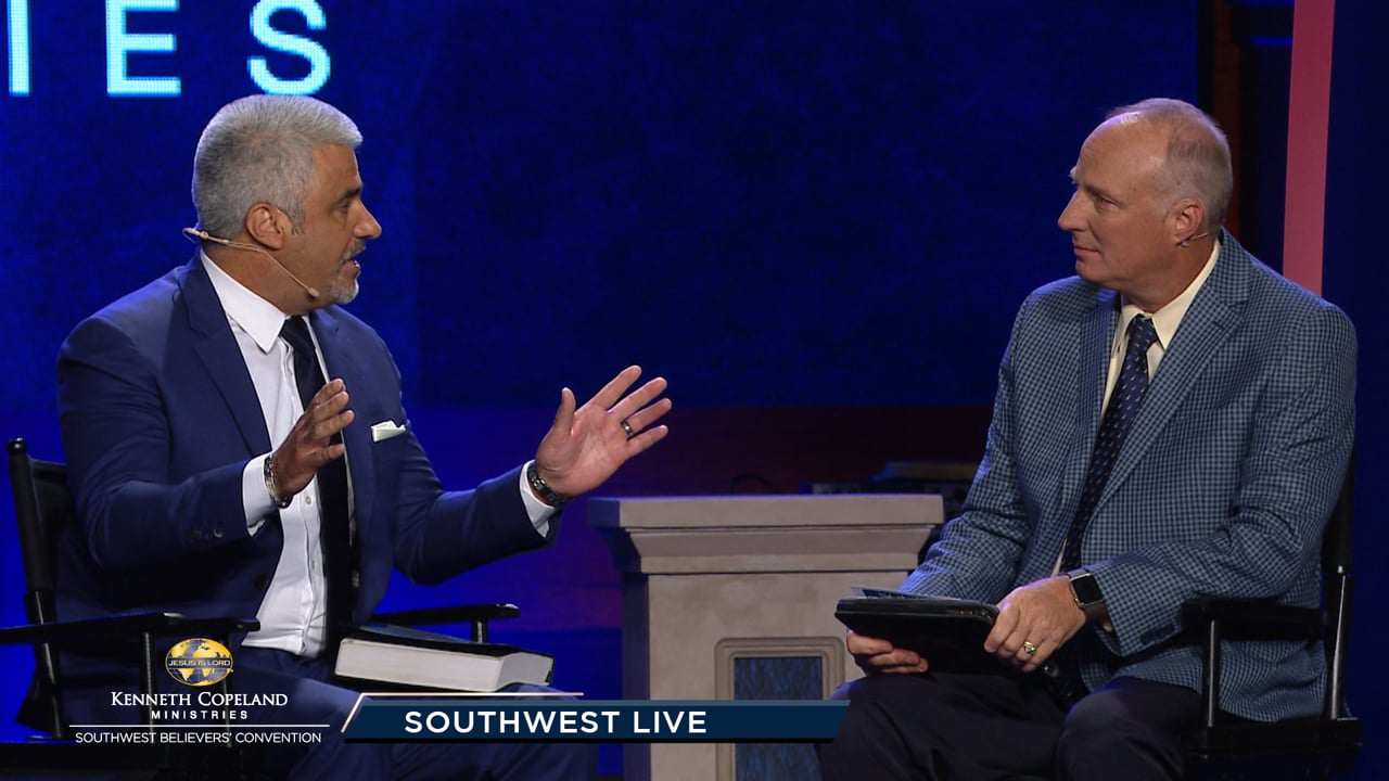 Join Tim Fox at the 2019 Southwest Believers' Convention with guest, Sergio Alvarado. Hear his testimony from drugs and vision for the children in Mexico. Join Pastor Greg Stephens and EMIC's community pastors as they tell their SWBC journey. Rick and Denise Renner share about their ministry in Russia.
