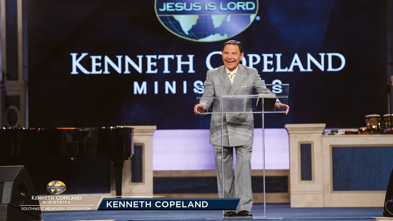 "The same Spirit of power that created the universe resides in you! At the 2019 Southwest Believers' Convention, Kenneth Copeland says it's time to develop a God-inside-you consciousness. We are ""inside-out"" people. He's in you, walking and talking through you. The whole kingdom of God is in you NOW!"
