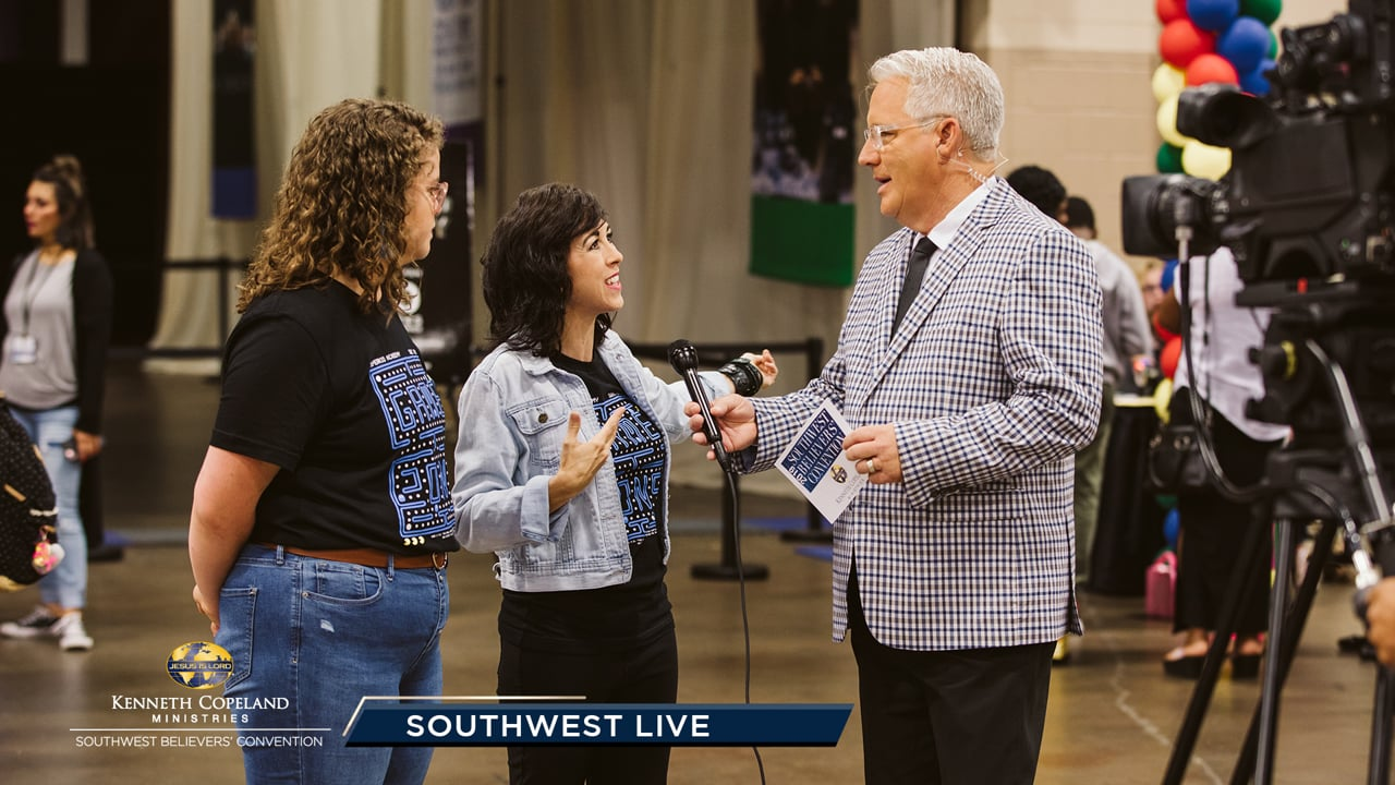 "Join Tim Fox at the 2019 Southwest Believers' Convention with guests Spencer and Cindy Nordyke as they share how ""intense soaking"" in the Word at SWBC changes lives! Pastor Greg Stephens gives an update from Superkids. Hear Mark and Trina Hankins give testimony of Trina's healing from a brain tumor."