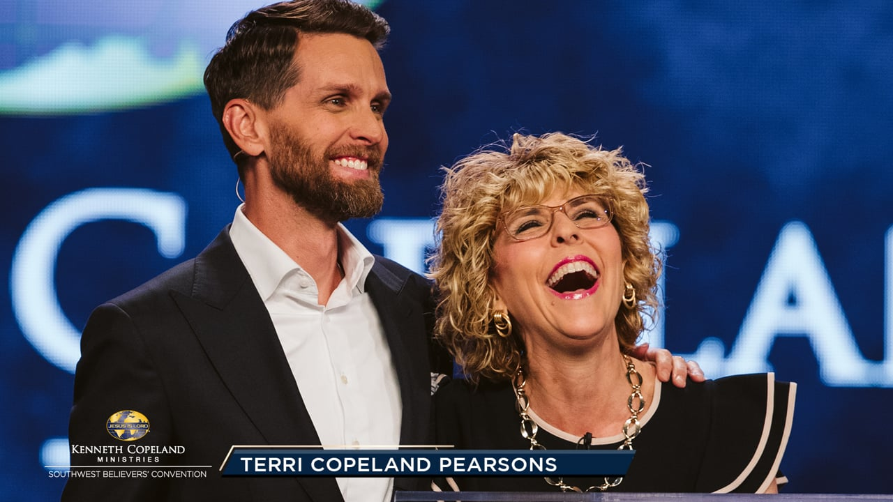 At the 2019 Southwest Believers' Convention, Pastor Terri Copeland Pearsons and her son, Jeremy, join in prayer for families. They intercede for an awakening to God and faith, declaring that no situation is impossible for Him. The broken Body of Christ made provision for every family to be made whole!