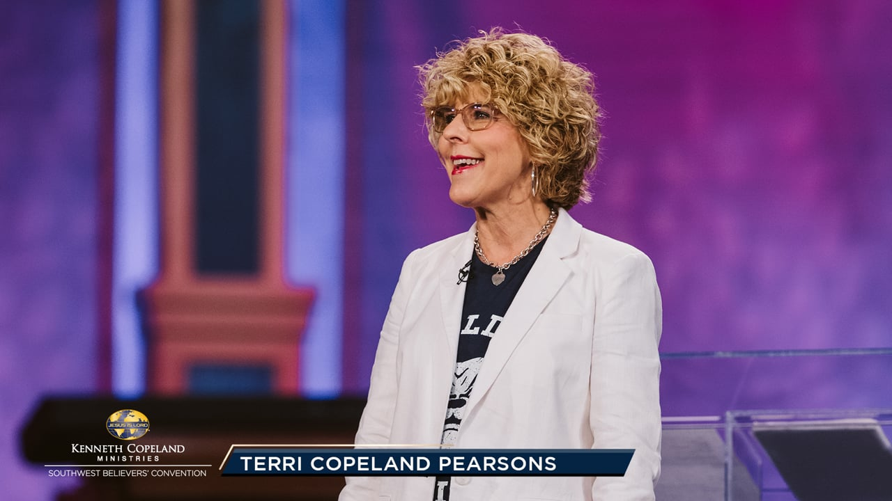 During Staff Day, at the 2019 Southwest Believers' Convention, Pastor Terri Copeland Pearsons shares her love and appreciation for the EMIC, KCM and KCBC staff. She and her team lead prayer over the various ministry departments and personnel. Also, a special emphasis is given to the ministry prayer teams.