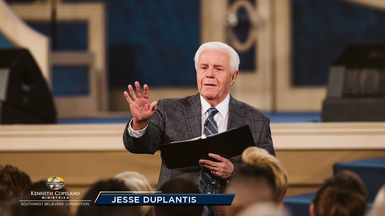 """In this 2019 Southwest Believers' Convention session, Jesse Duplantis reveals what Jesus did for a man with leprosy that religion would not do. Touching people who have never been touched will take the agony out of their lives. Learn about the """"touch of identification."""" Jesus saved us to touch people!"""