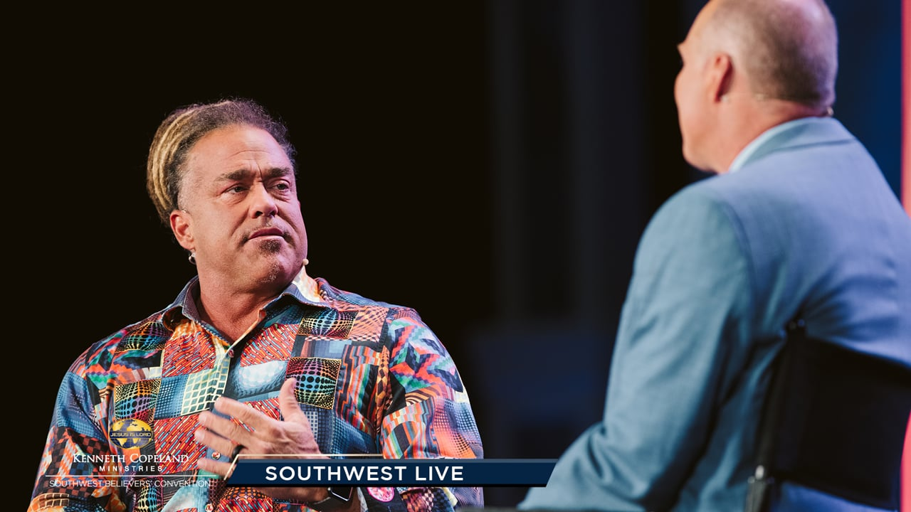 Join Tim Fox at the 2019 Southwest Believers' Convention, as his guest, Todd White, shares his testimony from drug addiction. Ps. Greg Stephens meets with Dr. Tony Erby and a KCBC student whose life was transformed by this school. Kurt Kjellstrom explains how prayer brings the SWBC together!