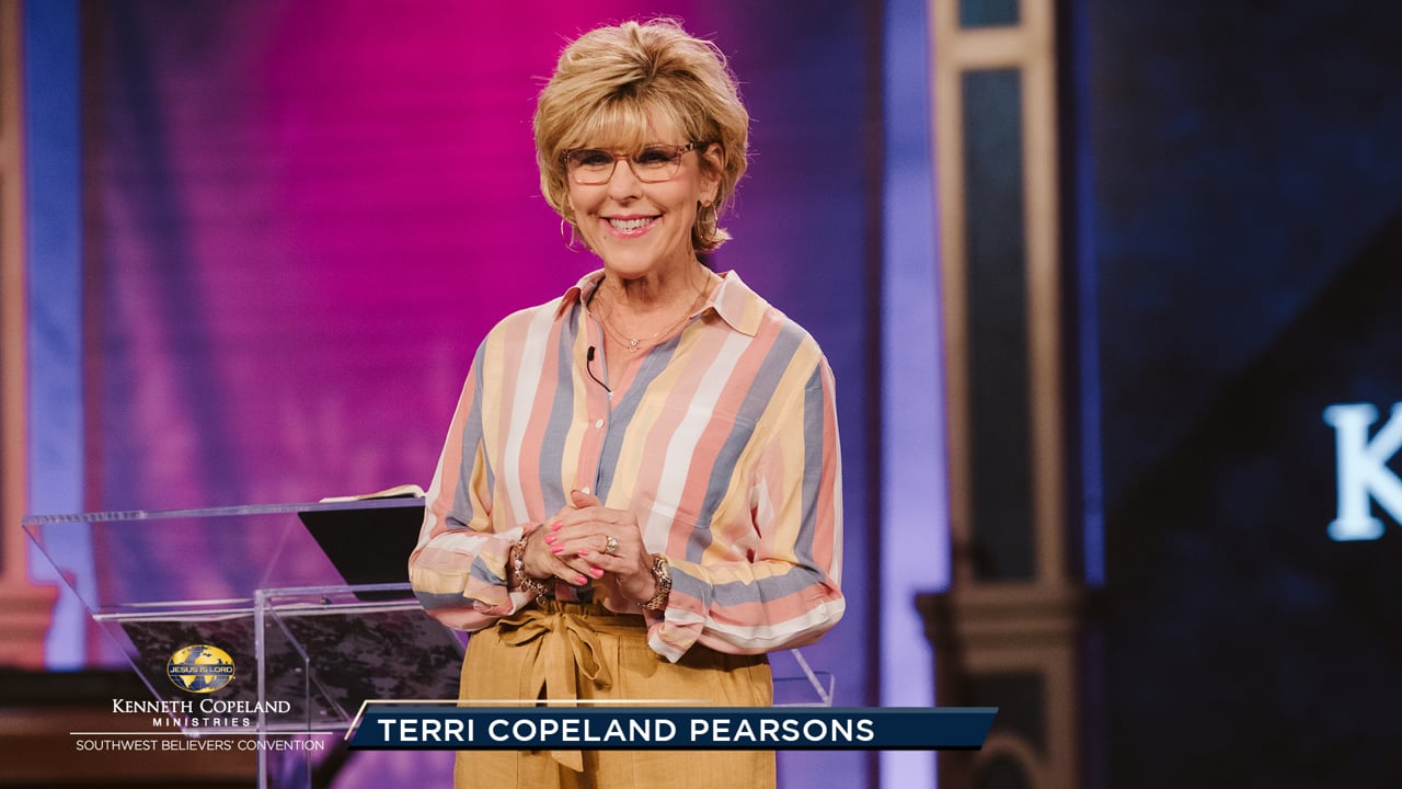 At the 2019 Southwest Believers' Convention, Ps. Terri Copeland Pearsons shares how to overcome pressure or negative thoughts. Remember, and thank Him for, His faithfulness and goodness to you from the past. Remember His help, care, protection, comfort, healings and all that He did for you and others!