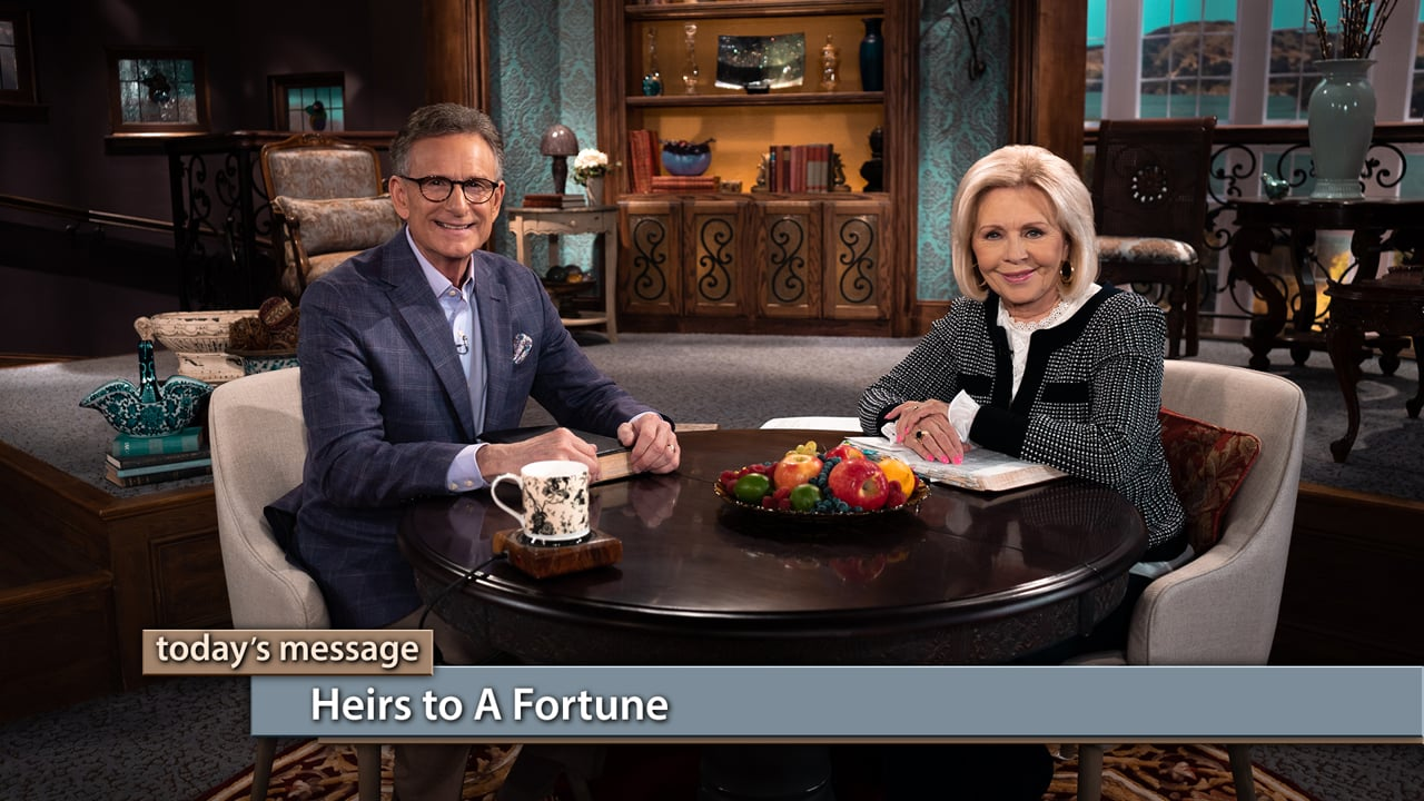Are you ready for the reading of the will? Join Gloria Copeland and George Pearsons on Believer's Voice of Victory as they share how believers become heirs to a fortune when they are born again into the family of God. Find out what's included in your inheritance and how to receive what's rightfully yours!