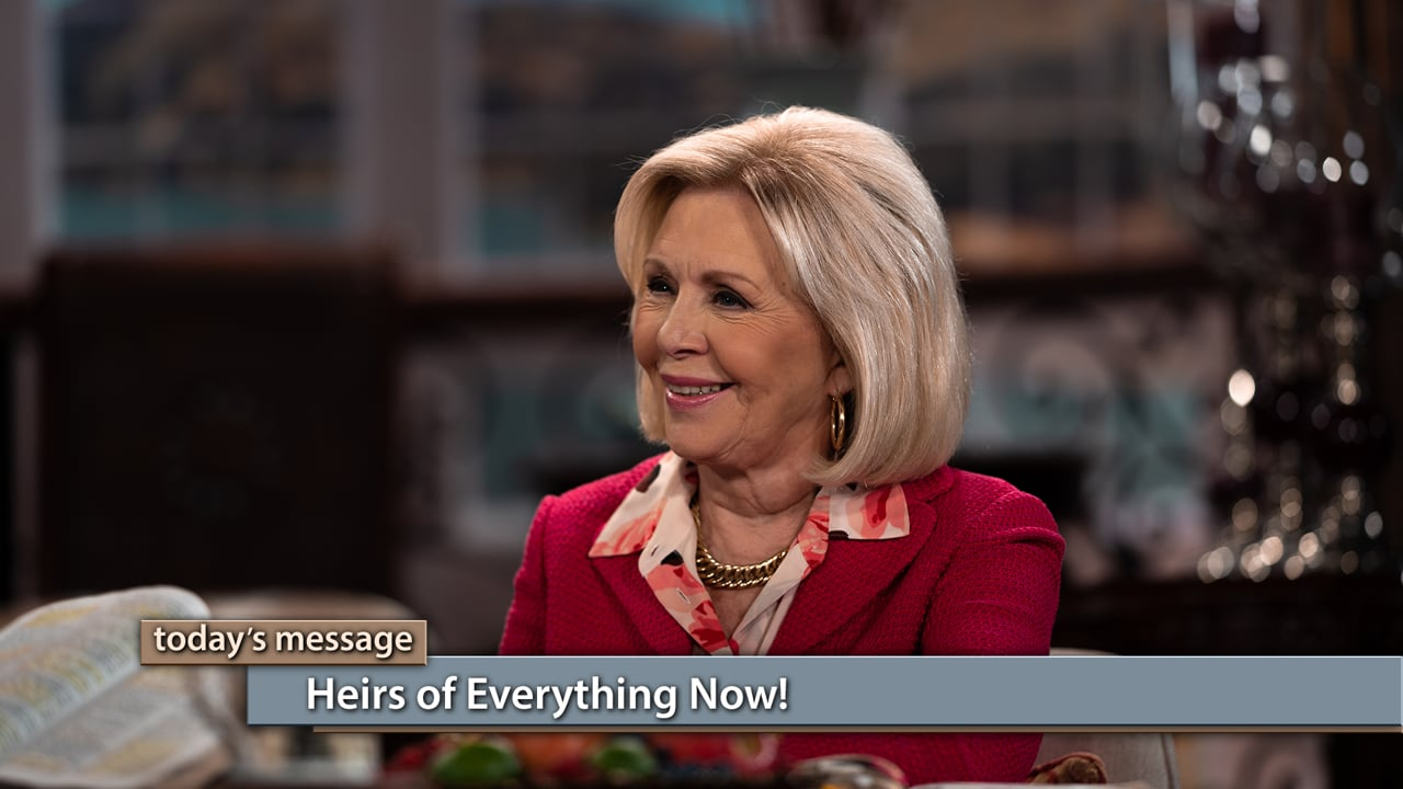 When can you access your inheritance through Christ? Find out on Believer's Voice of Victory as Gloria Copeland and George Pearsons explain why we are heirs of everything now. You don't have to wait to go to heaven to enjoy healing, prosperity and peace. Learn how to receive your inheritance NOW!