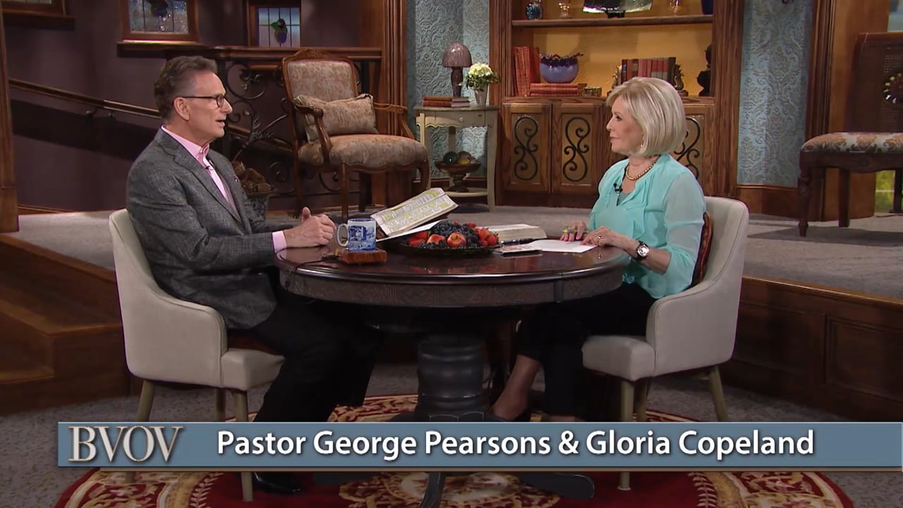 Say goodbye to anxiety over finances! Watch Gloria Copeland and George Pearsons on Believer's Voice of Victory as they show you how to look to the Lord, your Provider, to meet every need. When you put God and His ways first in your life, you'll never lack any good thing!