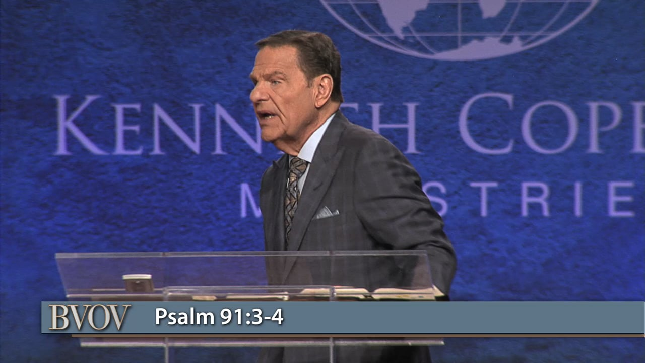 You are never alone! Join Kenneth Copeland on Believer's Voice of Victory as he unpacks Psalm 91 and why angels work to keep you in all your ways in every situation. Learn how to get in the secret place by believing it in your heart and saying it with your mouth. That's how to receive the ministry of angels!