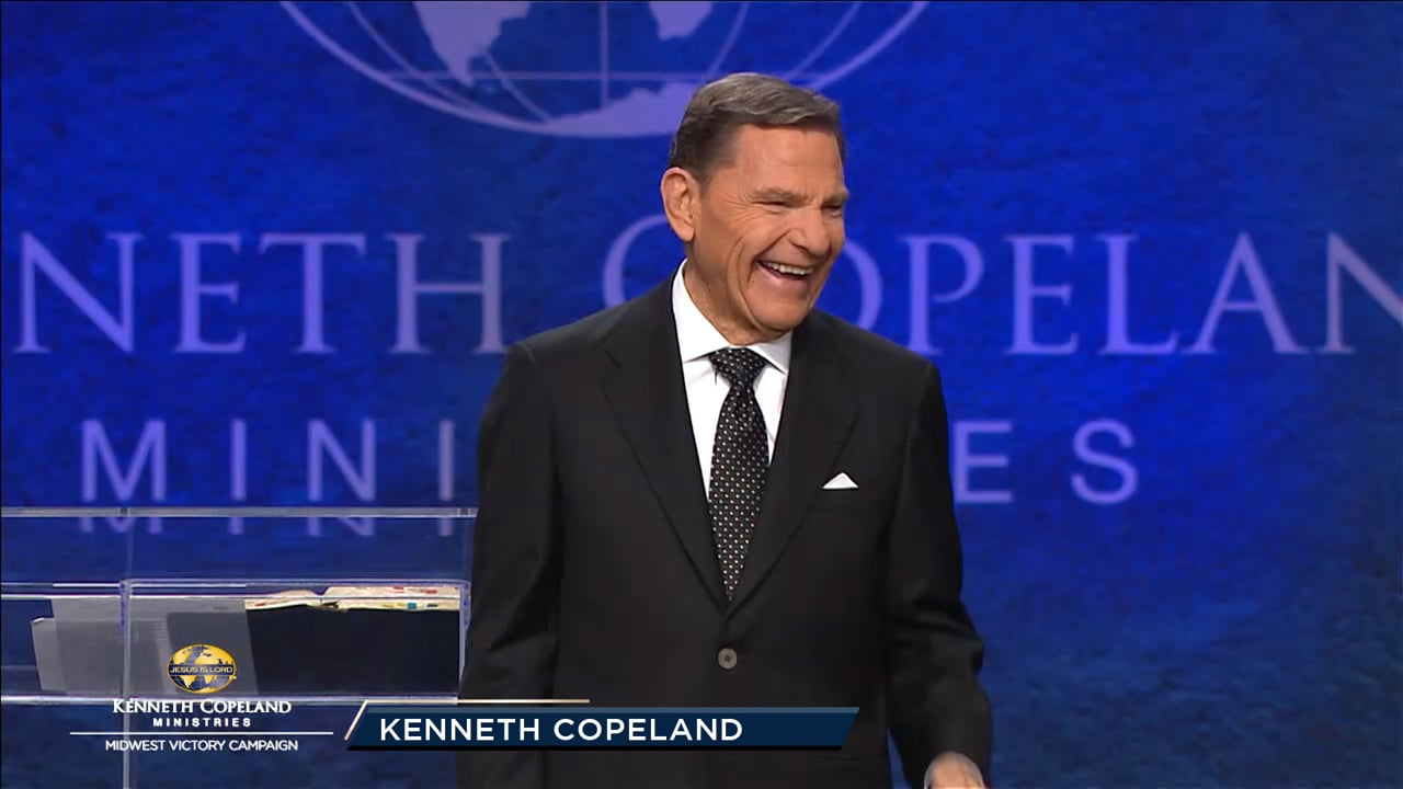 """…He looked up to heaven, blessed and broke the loaves"" Mark 6:41 (NKJV). At the 2019 Midwest Victory Campaign, Kenneth Copeland shares the similarities between what Jesus prayed in this verse compared to what God declared over Adam and Eve in Genesis 1:28. THE BLESSING of the Lord makes rich!"