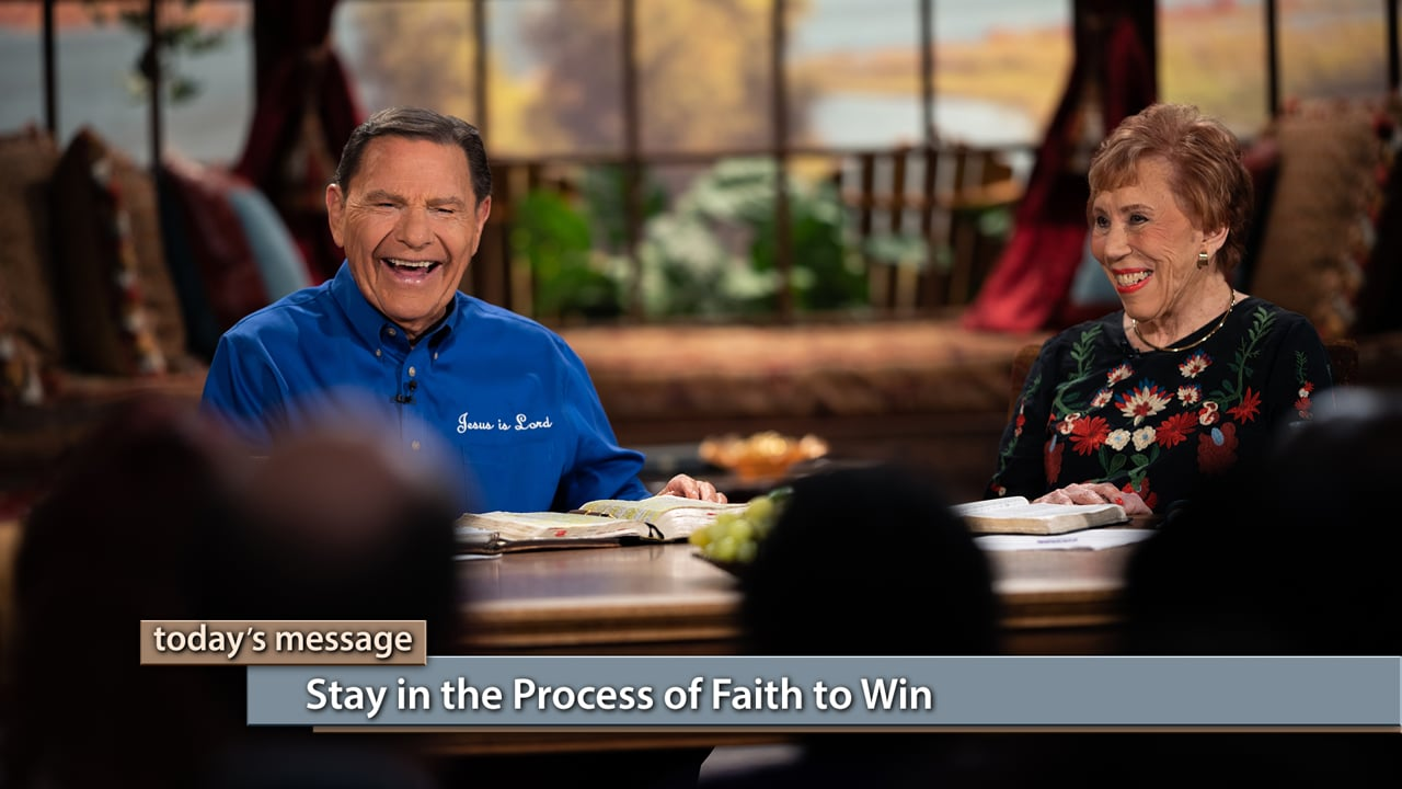 The key to victory is in never giving up! Join Kenneth Copeland and Marilyn Hickey on Believer's Voice of Victory as they share why faith is a continual process in your life. Learn how staying in The WORD of God will help you grow continually and cause you to live a supernatural life. No matter what you're facing, you must stay in the process of faith to win.