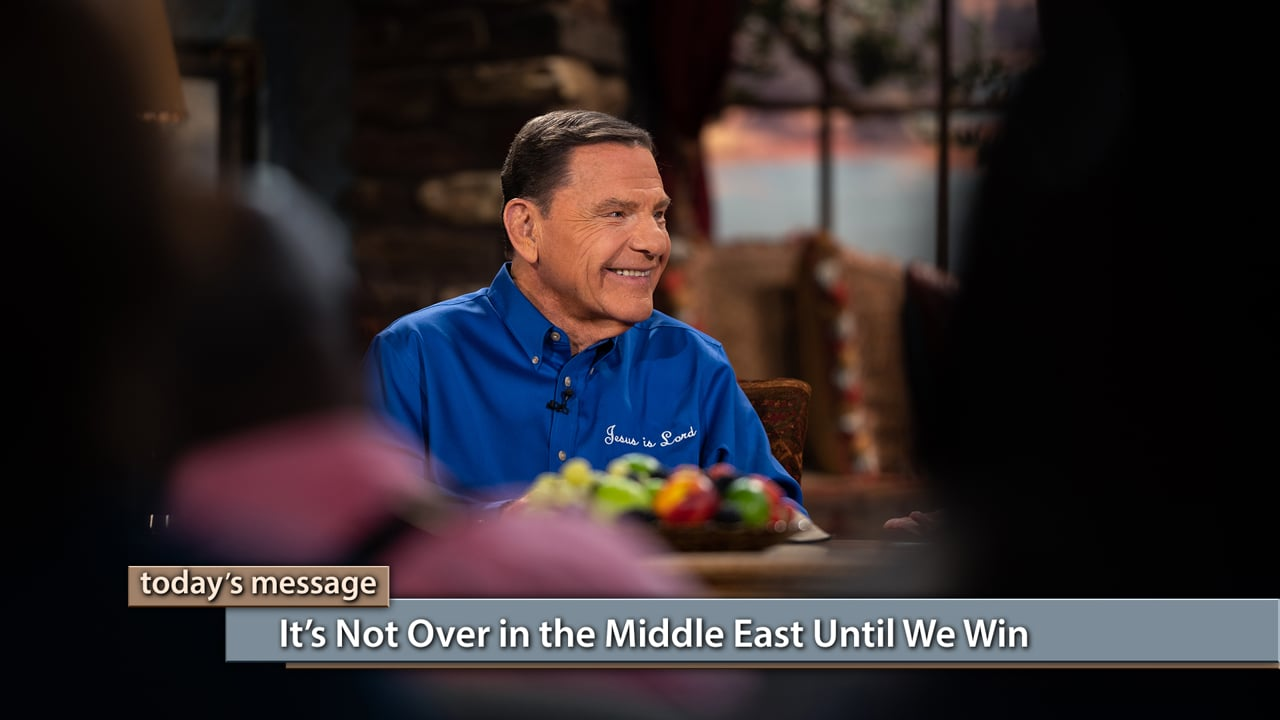God is working the miraculous in the Middle East! Join Kenneth Copeland and Marilyn Hickey on Believer's Voice of Victory as they discuss the exciting things happening with The WORD of God in Pakistan and Saudi Arabia. Hear Marilyn share powerful testimonies about bringing God's healing to the nations of the world. It's not over in the Middle East until we win!