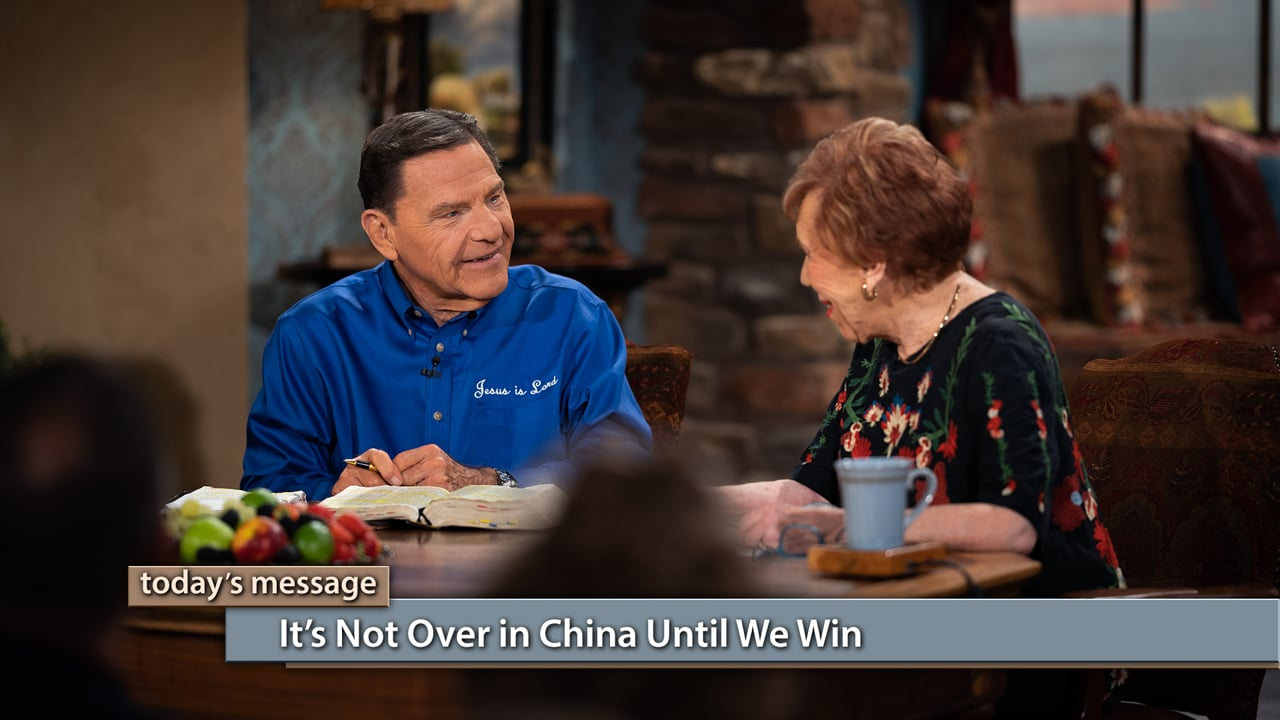 Persecution can't stop The WORD of God! Watch Believer's Voice of Victory as Kenneth Copeland and Marilyn Hickey discuss the powerful transformations occurring in China amidst threats and danger. Learn why Marilyn goes to places that people tell her she can't go and how it's not over in China until we win!