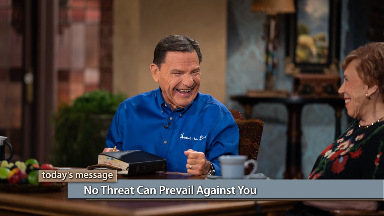 Even death threats can't stop The WORD of God! Watch Believer's Voice of Victory as Kenneth Copeland and Marilyn Hickey talk about Marilyn's supernatural experiences in Pakistan and other nations as she obeyed God in taking the gospel around the world. Learn why no threat can prevail against you when you're in His will!