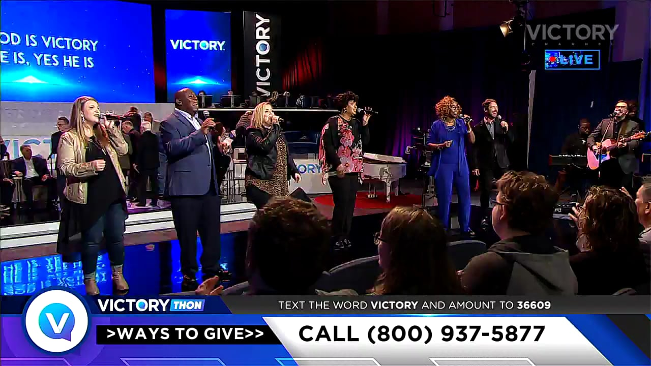 Watch our sixth session of the 2019 VICTORYthon Programmers' Event and be a part of what the Lord is doing through VICTORY Channel! Host Jesse Duplantis, VICTORY programmers, powerful musical performances and amazing testimonies share the vision for VICTORY Channel to spread the good news that Jesus is LORD all over the world!