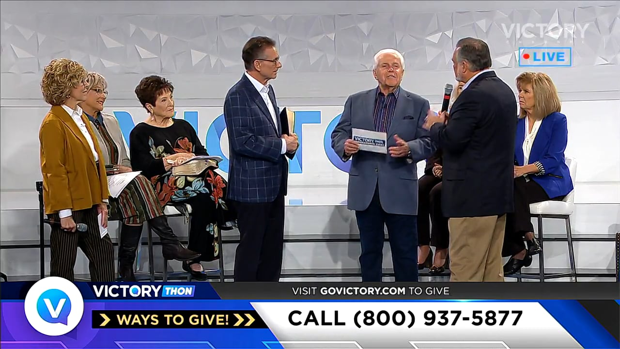 Watch Jesse Duplantis as he hosts the second session of the 2019 VICTORYthon Programmers' Event! Special guests include Keith Moore, David and Nicole Crank, Gary and Drenda Kessee and Billye Brim to name just a few. Hear powerful words of faith from VICTORY Channel programmers and testimonies from viewers helping spread VICTORY Channel all over the world!