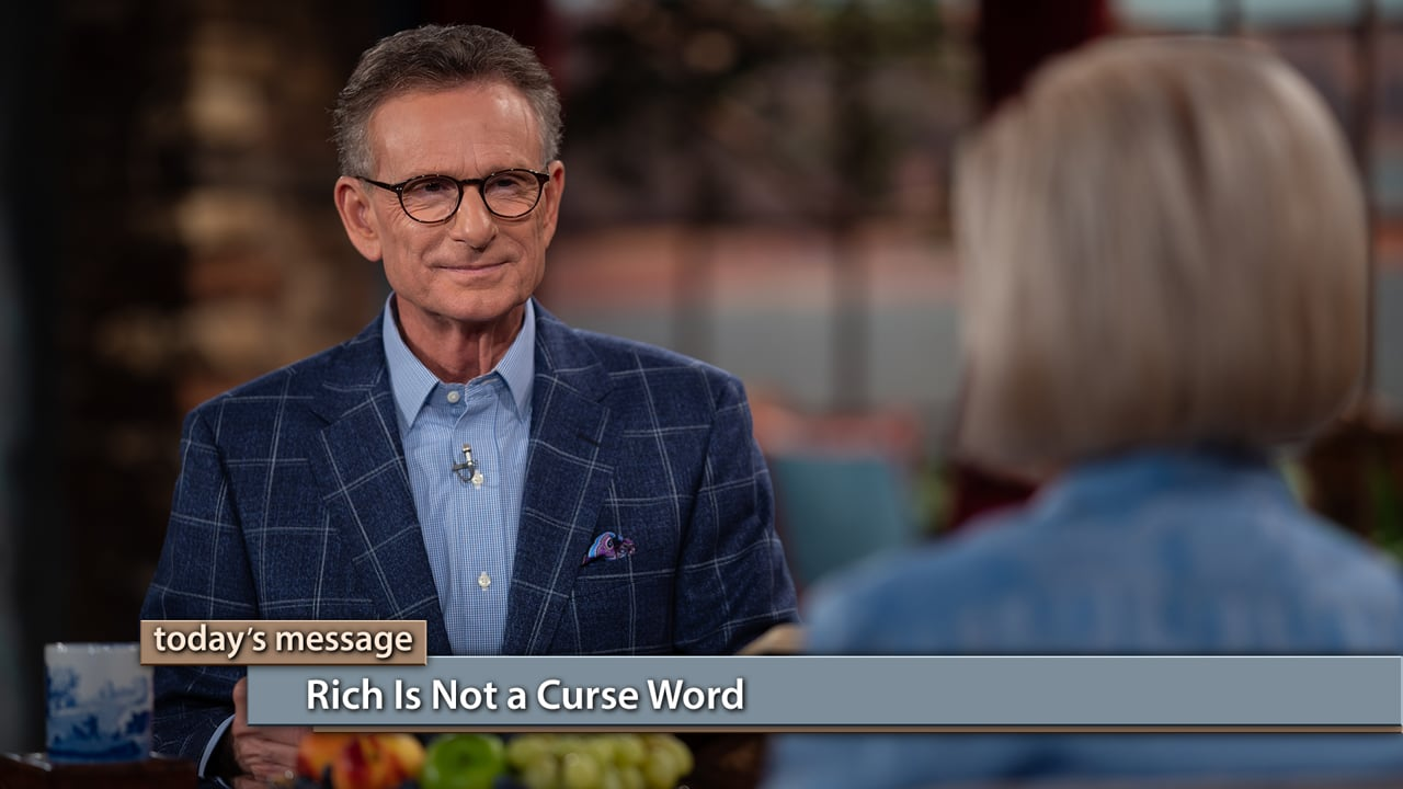 God decided ahead of time that He wanted us to be blessed with wealth! Join Gloria Copeland and George Pearsons on Believer's Voice of Victory as they teach you why you are meant to increase without toil. Learn why rich is not a curse word—it's a blessing word!