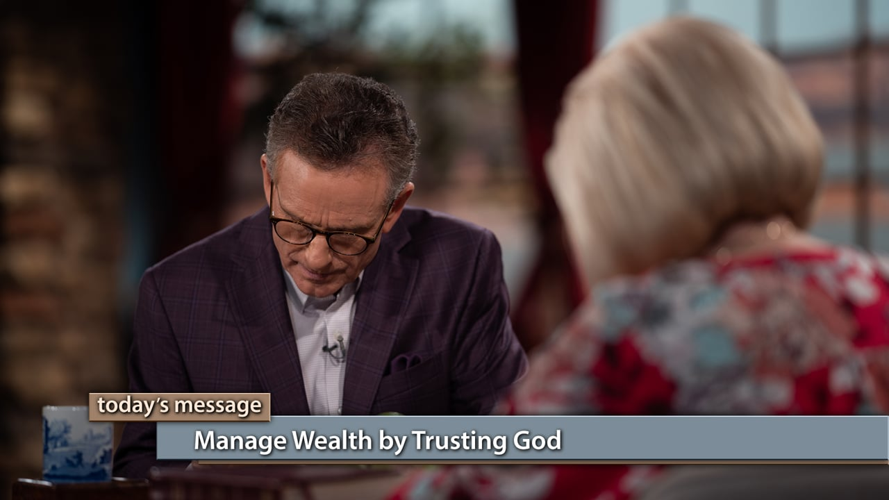 Trust will protect your finances! Watch Believer's Voice of Victory as Gloria Copeland and George Pearsons teach you how to treat both money and people as you manage wealth by trusting God. Learn why trusting God will keep you out of pride and out of danger!