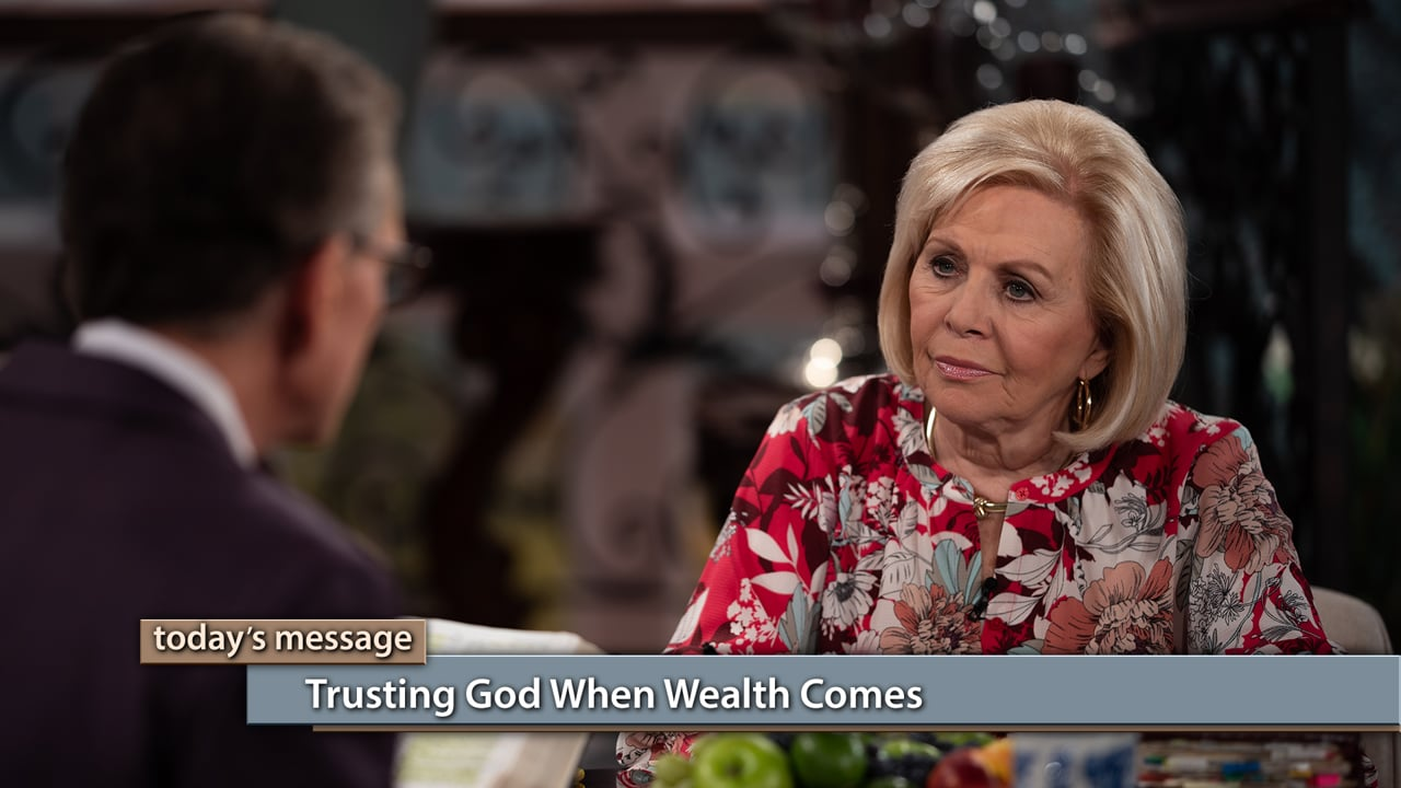 Wealth can be dangerous if you don't know how to handle it God's way! Watch Believer's Voice of Victory as Gloria Copeland and George Pearsons teach you the importance of trusting God when wealth comes to avoid falling into greed. Learn to beware of danger signs, and how to shift from fear of loss to trust in God.